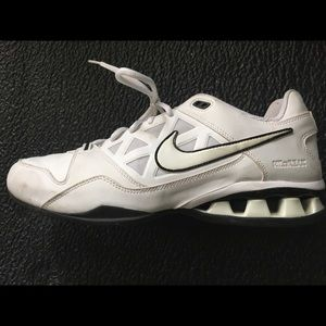 White Nike Reax, Men's size 10